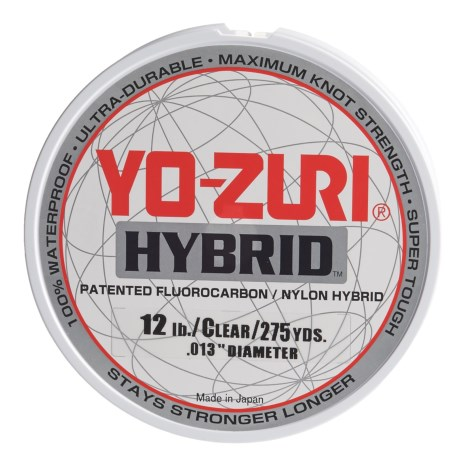 Yo-Zuri Hybrid Clear Fishing Line - 12 lb., 275 yds. in Clear