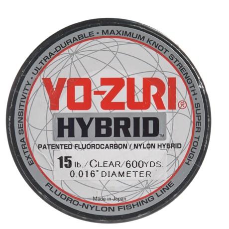Yo-Zuri Hybrid Clear Fishing Line - 15 lb., 600 yds. in Clear