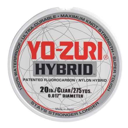 Yo-Zuri Hybrid Clear Fishing Line - 20 lb., 275 yds. in Clear - Closeouts