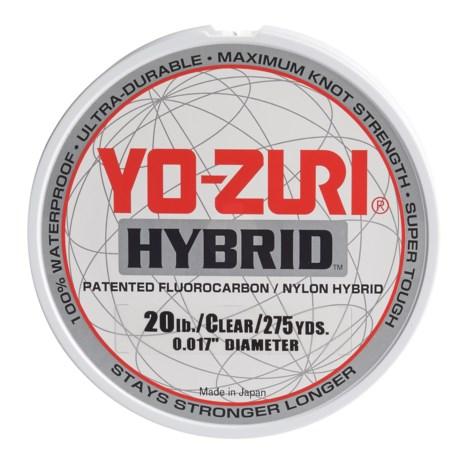 Yo-Zuri Hybrid Clear Fishing Line - 20 lb., 275 yds. in Clear