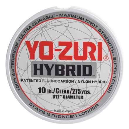 Yo-Zuri Hybrid Clear Fishing Line - 275 yds., 10 lb. in Clear - Closeouts