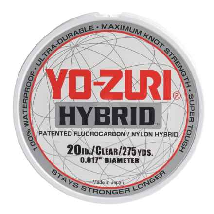 Yo-Zuri Hybrid Clear Fishing Line - 275 yds., 20 lb. in Clear - Closeouts