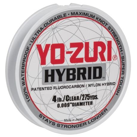 Yo-Zuri Hybrid Clear Fishing Line - 4 lb., 275 yds. in Clear
