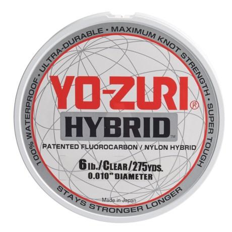Yo-Zuri Hybrid Clear Fishing Line - 6 lb., 275 yds. in Clear