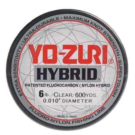 Yo-Zuri Hybrid Clear Fishing Line - 6 lb., 600 yds. in Clear