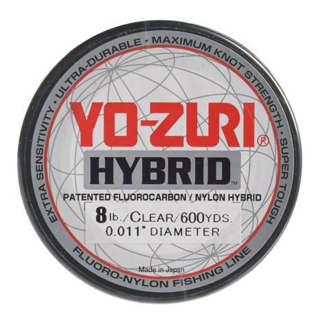 Yo-Zuri Hybrid Clear Fishing Line - 8 lb., 600 yds. in Clear