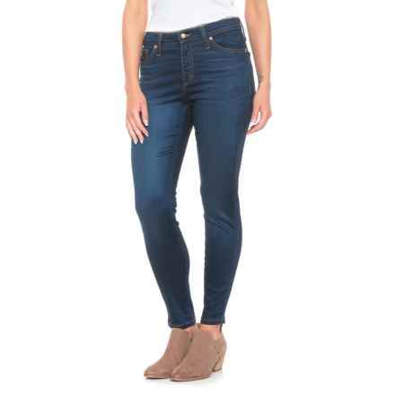 Yoga Jeans Classic High-Rise Ankle Jeans (For Women) in Medium Wash - Closeouts