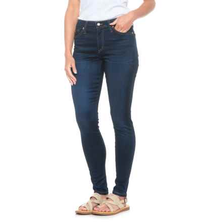 Yoga Jeans Classic High-Rise Skinny Jeans (For Women) in Medium Wash - Closeouts
