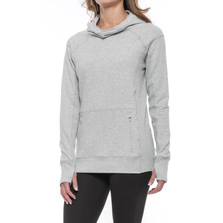 Yogalicious Cotton Terry Hoodie (For Women)
