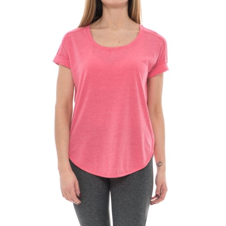 Yogalicious High-Low Dolman Shirt - Short Sleeve (For Women)