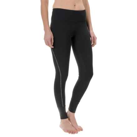 Yogalicious High-Waist Leggings (For Women) in Black/Heather.Charcoal - Closeouts