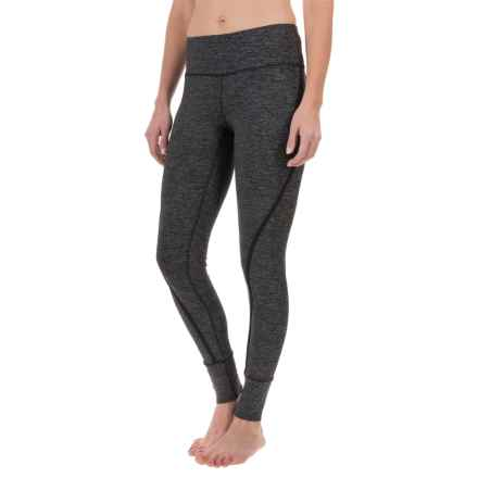 Yogalicious High-Waist Leggings (For Women) in Heather.Charcoal/Black - Closeouts