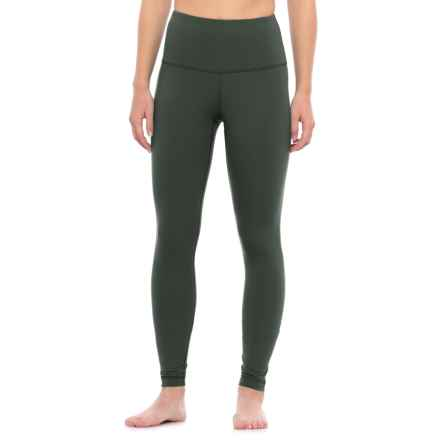 Yogalicious High-Waist Leggings (For Women) in New Olive - Closeouts