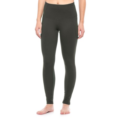 Yogalicious High-Waist Leggings (For Women) in New Olive