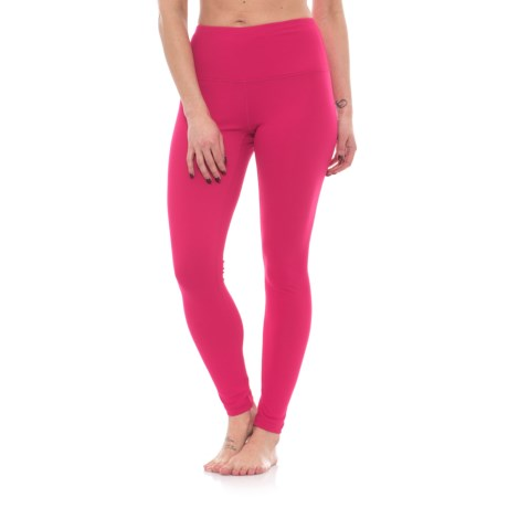 Yogalicious High-Waist Leggings (For Women) in Rubine Red