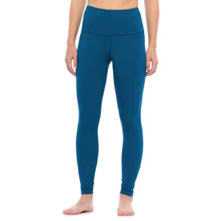 Yogalicious High-Waist Leggings (For Women) in Winter Blue - Closeouts