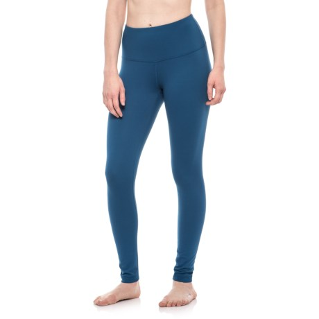 Yogalicious High-Waist Leggings (For Women) in Winter Blue