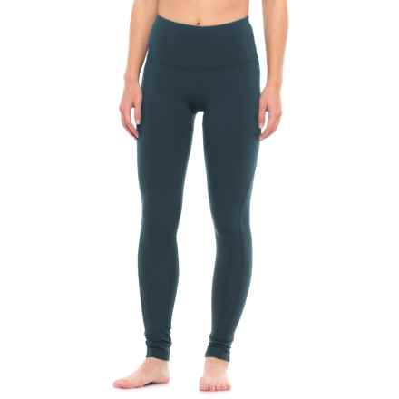 Yogalicious High-Waist Missy Leggings (For Women) in Navy Blazer - Closeouts