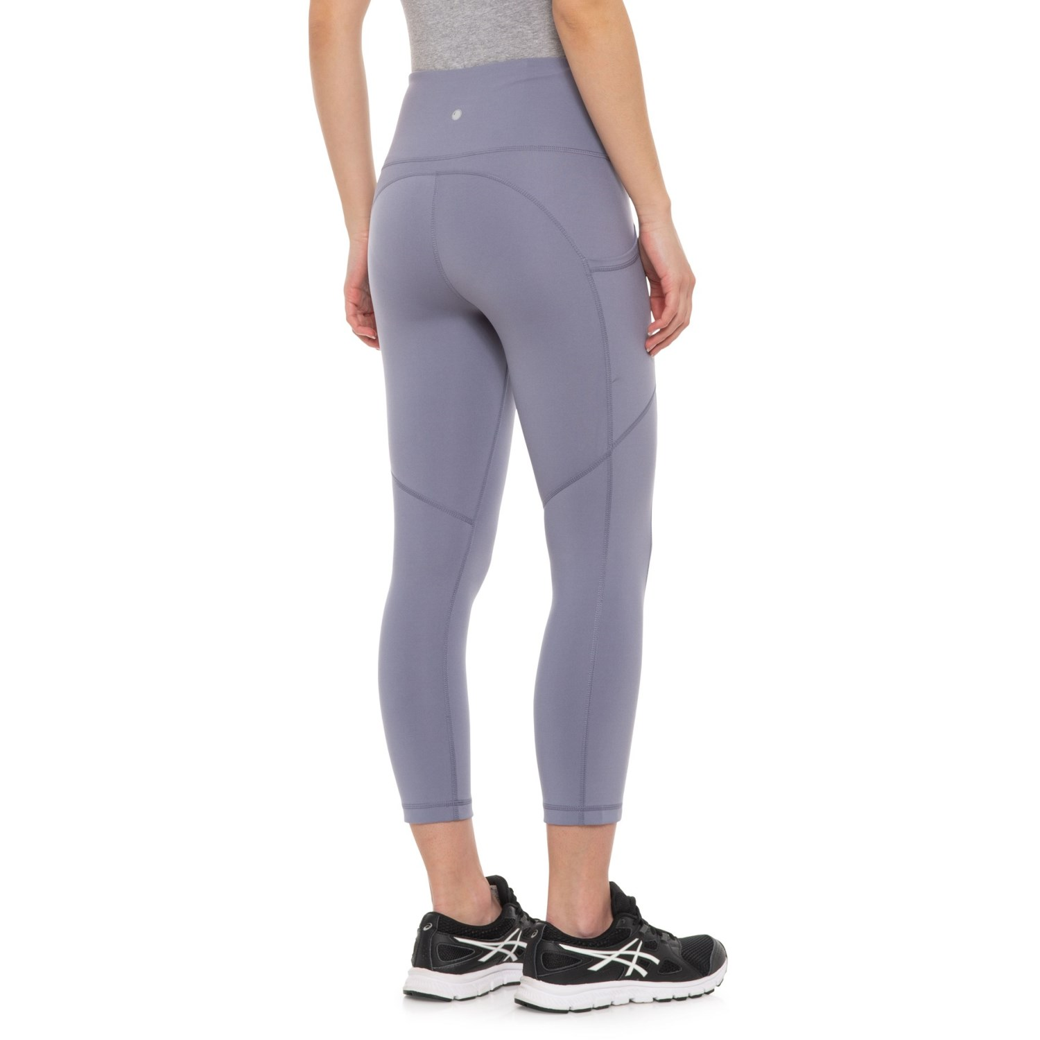 8b6ff0be707b7 Yogalicious Lux Lux Peached Pocket Hi-Rise Capris (For Women) - Save 50%