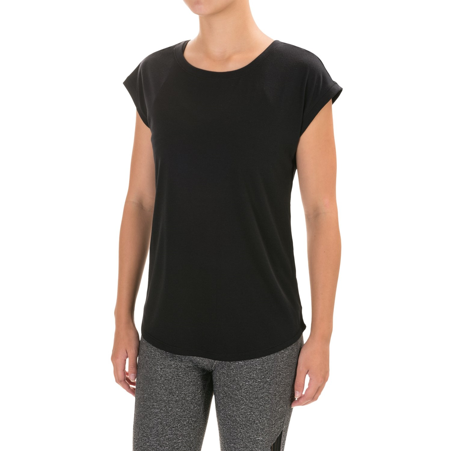 Yogalicious Open-Back Shirt (For Women) - Save 48%