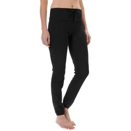 Yogalicious Pull-Over Pants (For Women) in Black/Black - Closeouts