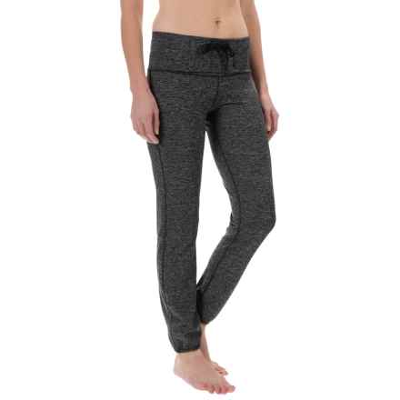 Yogalicious Pull-Over Pants (For Women) in Heather.Charcoal/Black - Closeouts