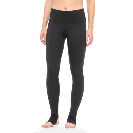 Yogalicious Stella Stirrup Leggings (For Women) in Black