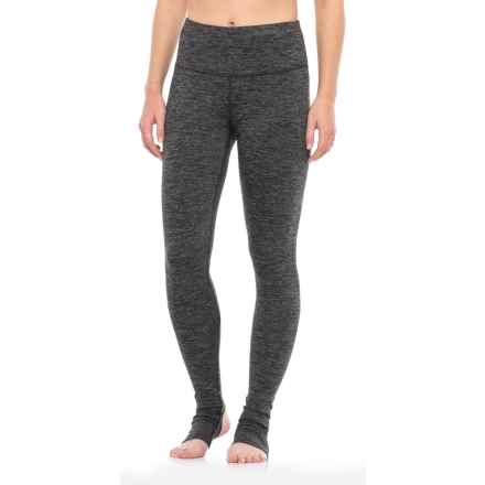 Yogalicious Stella Stirrup Leggings (For Women) in Heather Charcoal - Closeouts