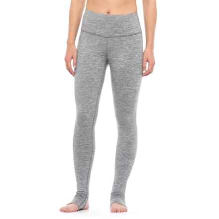 Yogalicious Stella Stirrup Leggings (For Women) in Heather Grey - Closeouts
