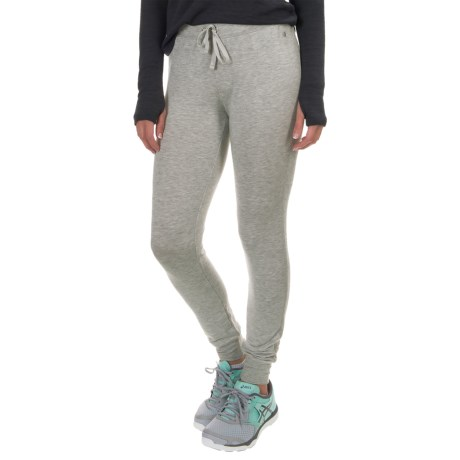 Yogalicious Warm-Up Joggers (For Women) in Heather Grey