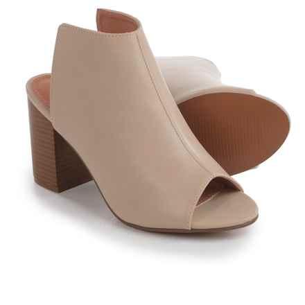 Yoki Brittaa Sandals - Vegan Leather (For Women) in Beige - Closeouts