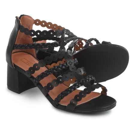 Yoki Delano Sandals - Vegan Leather (For Women) in Black - Closeouts