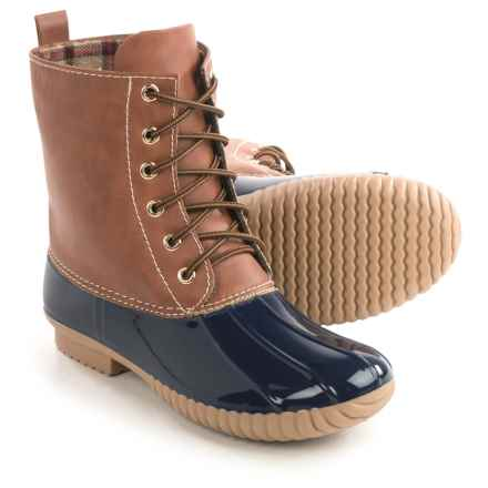 Yoki Dylan Duck Boots (For Women) in Navy - Closeouts