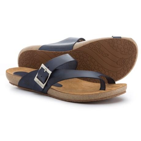 Yokono Made in Spain Ibiza 013 Sandals - Leather (For Women) in Navy Marino