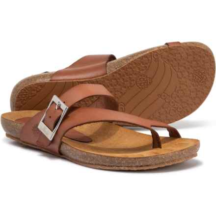 Yokono Made in Spain Ibiza 013 Sandals - Leather (For Women) in Nuez