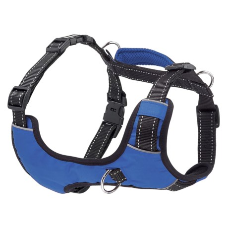 Your Perfect Puppy Blue Dog Harness in Blue