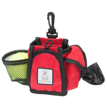 Your Perfect Puppy Dog Treat Pouch in Red - Closeouts