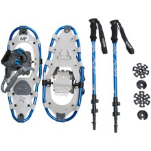 """Yukon Charlie's Mountain Profile Snowshoes Kit - 21"""" (For Women) in See Detail - Closeouts"""