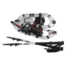"""Yukon Charlie's Pro II Snowshoe Kit - 21"""" (For Women) in See Photo - Closeouts"""