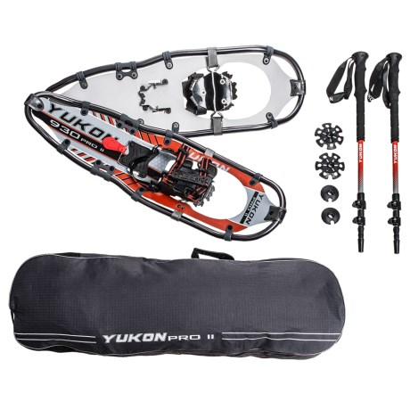 "Yukon Charlie's Pro II Snowshoe Kit - 30"" in See Photo"