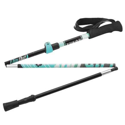 Yukon Charlie's Flipout Trekking Poles in Blue - Closeouts