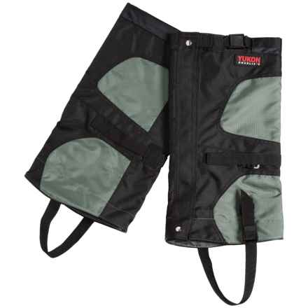 Yukon Charlie's Icon Gaiters in Black/Carbon - Closeouts