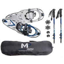 "Yukon Charlie's Mountain Profile Snowshoe Kit - 25"" in Asst - Closeouts"
