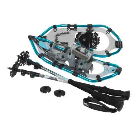"Yukon Charlie's Pro II 821 Snowshoes Kit - 21"" (For Women) in See Photo - Closeouts"
