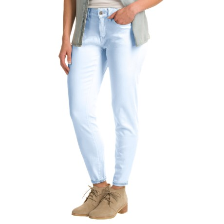 Yummie by Heather Thomson Ankle Jeans - Slim Cut (For Women) in Baby Blue