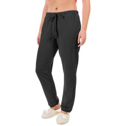 Yummie by Heather Thomson Baby French Terry Vintage Sweatpants (For Women) in Black - Closeouts