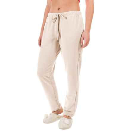 Yummie by Heather Thomson Baby French Terry Vintage Sweatpants (For Women) in Cream - Closeouts