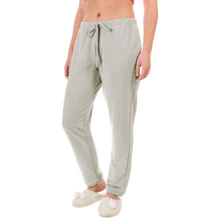 Yummie by Heather Thomson Baby French Terry Vintage Sweatpants (For Women) in Light Gray - Closeouts