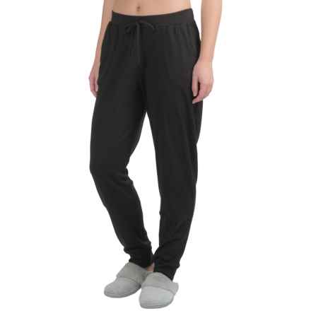 Yummie by Heather Thomson Baby Rib Lounge Pants (For Women) in Black - Closeouts