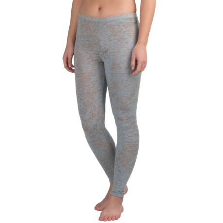 Yummie by Heather Thomson Burnout Skimmer Leggings (For Women) in Plein Air/ Light Gray